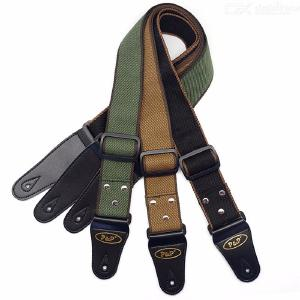 Adjustable Pure Cotton Electric Guitar Strap Belt for Acoustic Guitar Bass Musical Instrument Accessories