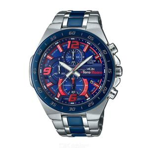 Casio Edifice EFR-564TR-2A TORO ROSSO Watch With Stainless Steel Band For Men