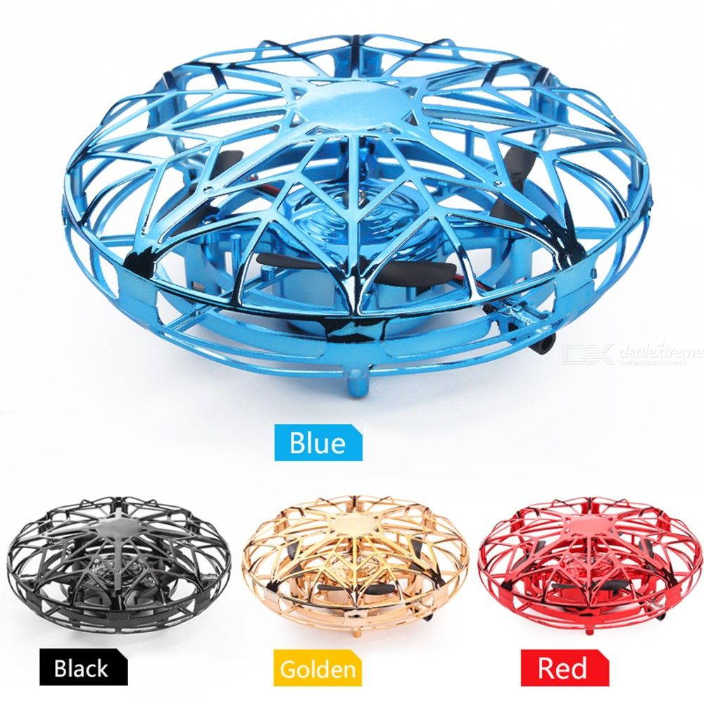 Anti-collision Infrared Induction UFO Aircraft Hand Control LED Flying Toys