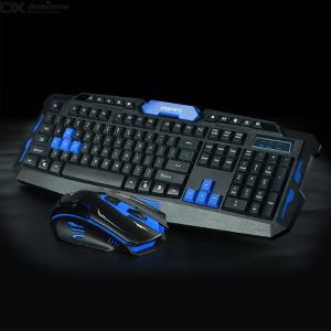 2.4G Bluetooth Wireless Keyboard And Mouse Combo, Gaming Or Office Set For Laptop, PC