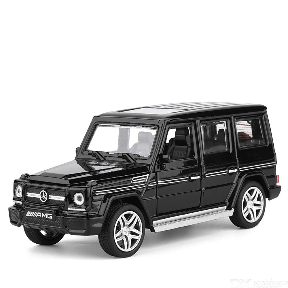 Pull Back Toy Car 1: 32 Mercedes-Benz G65 Car Model Simulation Alloy Vehicle