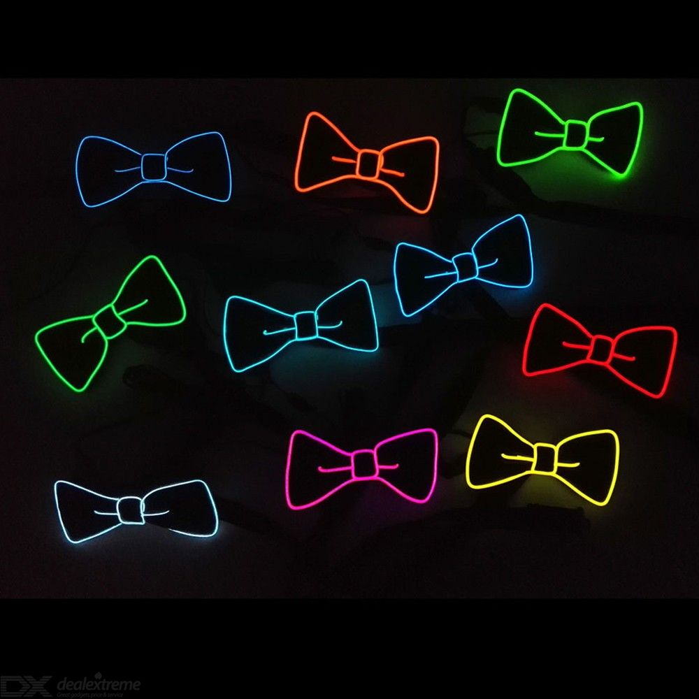 Christmas | Music | Party | Light | Bow | LED | Tie | Up | Ty