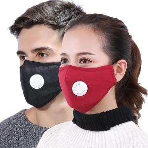 Activated Carbon Mask Reusable Anti Dust Mouth Cover For PM 2.5