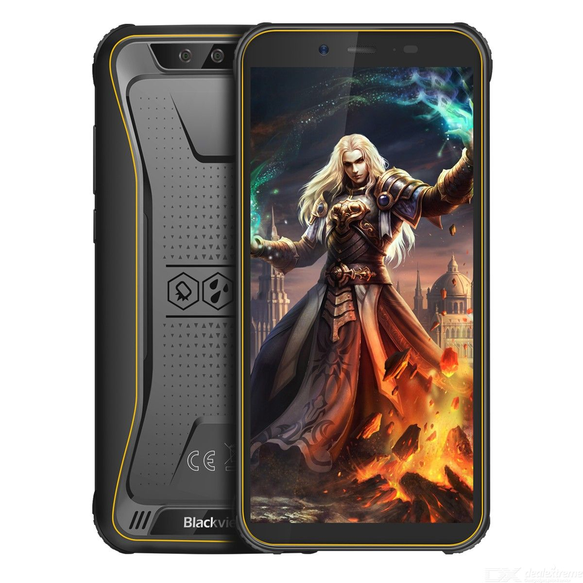 Blackview BV5500 Pro 5.5 inch Android 9.0 4G Cell Phone 3G + 16G 1.5GHz Quad-Core HD Smartphone - EU Version