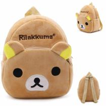 Children-3D-Cartoon-Backpack-Toddler-Fashion-Cute-Bear-School-Bag-With-Exquisite-Embroidery-For-Girls-Brown