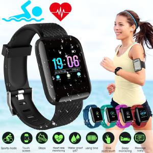 Smart Wristband IP67 Waterproof Smartwatch Blood Pressure Heart Rate Monitor Fitness Tracker Sport Watch For Android IOS