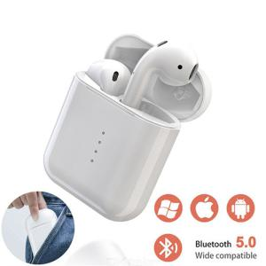 I10 Bluetooth 5.0 Wireless Earphones Waterproof Touch Control Headphones With Mic Charging Case For Apple Android