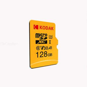 Kodak U3 A1 V30 Micro SD Card 128GB Memory Card Class 10 4K Video Record