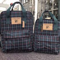 Plaid-Backpack-Casual-Travel-Bag-With-Light-Weight-Large-Capacity-For-Women-14-Inches