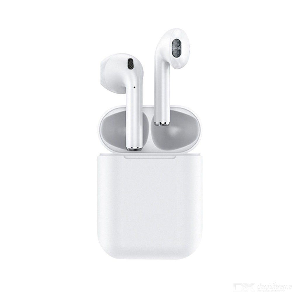 I12-TWS Bluetooth 5.0 Wireless Earphones Stereo Touch Control Sport Headphones With Mic Charging Case For Apple Android