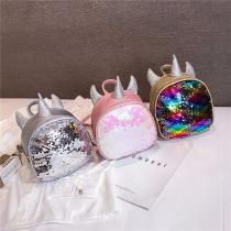 Children-3D-Unicorn-Backpack-Fashion-Cute-Cartoon-PU-Leather-School-Bag-With-Shiny-Sequin-Decoration-For-Girls