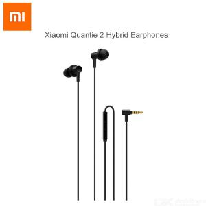 Xiaomi Quantie 2 Hybrid Headset  3.5mm Dual Driver Earphones L-Shape Earbuds for  Xiaomi  Smartphone