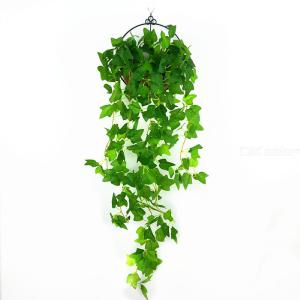 1PC Artificial Boston Ivy Fake Hanging Greenery Plants For Home Decoration
