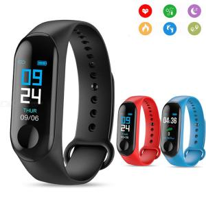 Fitness Tracker Waterproof Smart Bracelet Activity Tracker With Color Screen Heart Rate Sleep Blood Pressure Monitor