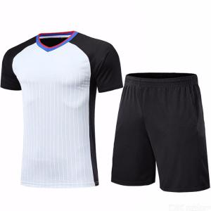 Breathable Short Sleeve Shorts Set Basketball Referee Clothing Training Suit For Men