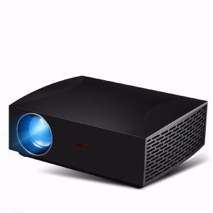 LED Portable Mini Projector, 4200 Lumens 1080P HD 300 inch Large LCD Screen Stereo Projector for Home Office