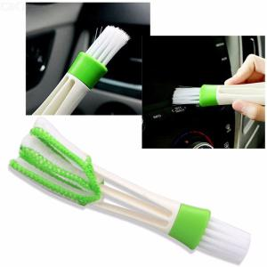 Brush Microfiber Cloth Cleaning Tool For Keyboard  Window Blind  Car Air Vent