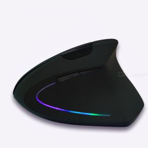 Wireless Left-Handed Vertical Ergonomic Mouse 1600 DPI 2.4GHz RF Wireless Technology