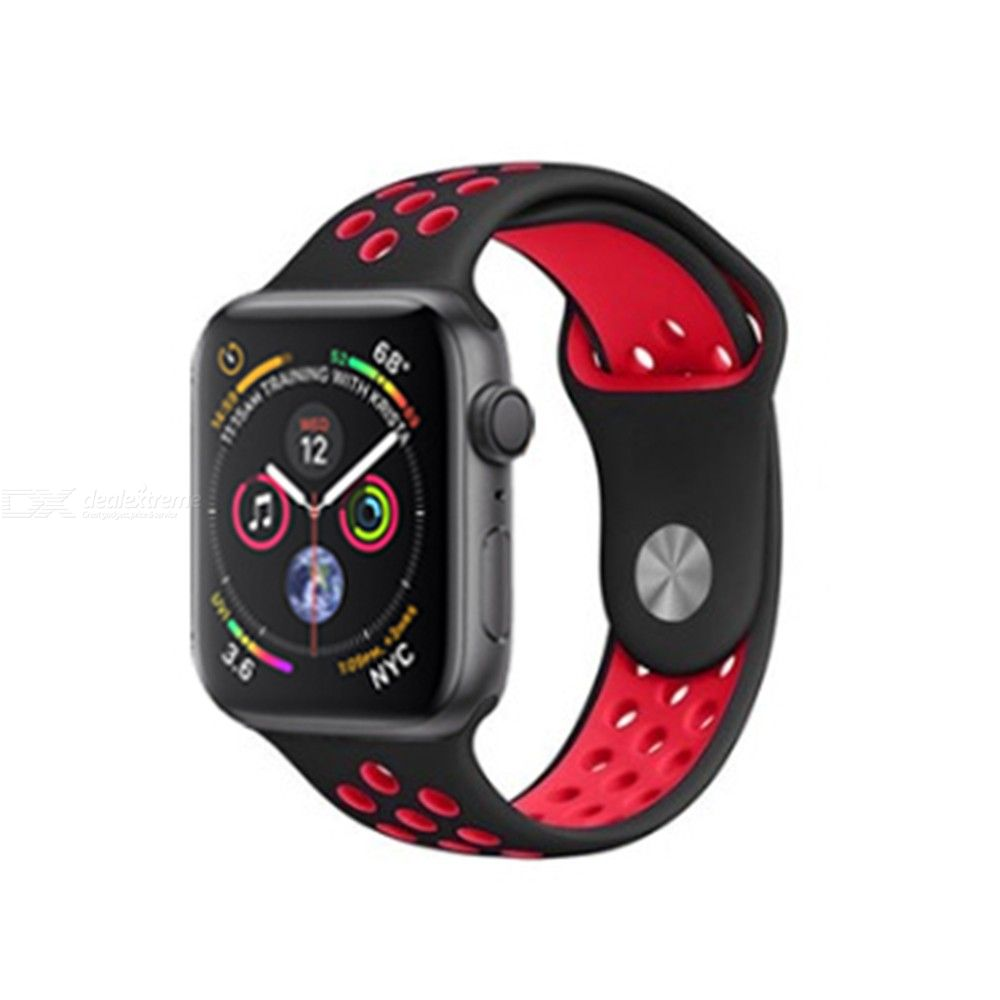 Soft Silicone Strap for Apple Watch Series 3  4 Band, iWatch Bands 38mm 40mm 42mm 44mm