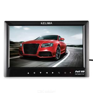 KELIMA 7 inch Car Monitor System and Backup Camera 18 Infrared Night Vision for Car Bus etc