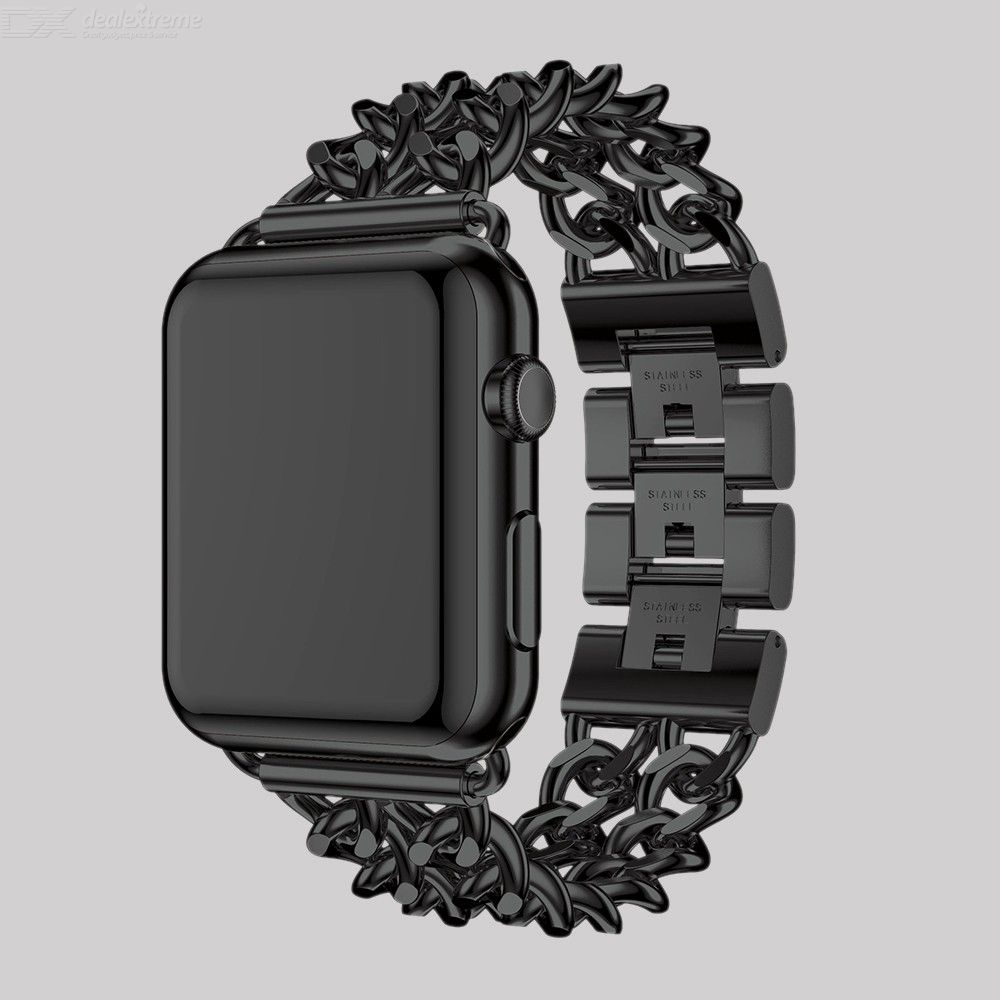 Replacement Band Cowboy Style Stainless Steel Watch Loop For APPLE Watch