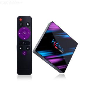 H96 Max TV-box Android 9,0 Fyrkärnig 4GB RAM 64GB ROM Wifi HDMI 4K TV-box 2.45ghz Dual Band