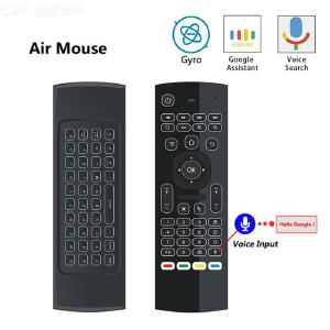 2.4G Backlight Air Mouse Wireless Keyboard 6-Axis Sensor Remote Control IR Learning for Smart TV