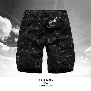 Casual Loose Tooling Shorts Summer Short Cargo Pants For Men