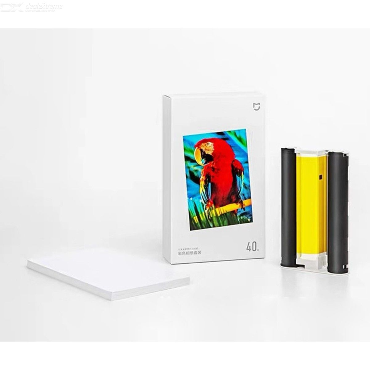 Xiaomi Mijia Photo Print Paper For Mobile Mini Photo Printer - 40 Sheets 6 Inches