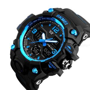 SKMEI 1155B Mens Digital Watch Multifunctional Sports Watch With Backlit