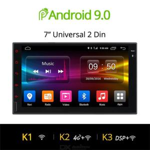 Ownice K3 Car GPS Navigation + DVD Player, 2 in 1 Android 9.0 System with WiFi  FM  Radio  BT