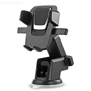 Telescopic Car Mount Holder, Universal Dashboard Car Phone Mount, Windshield Car Phone Holder for iPhone Android Cell Phone