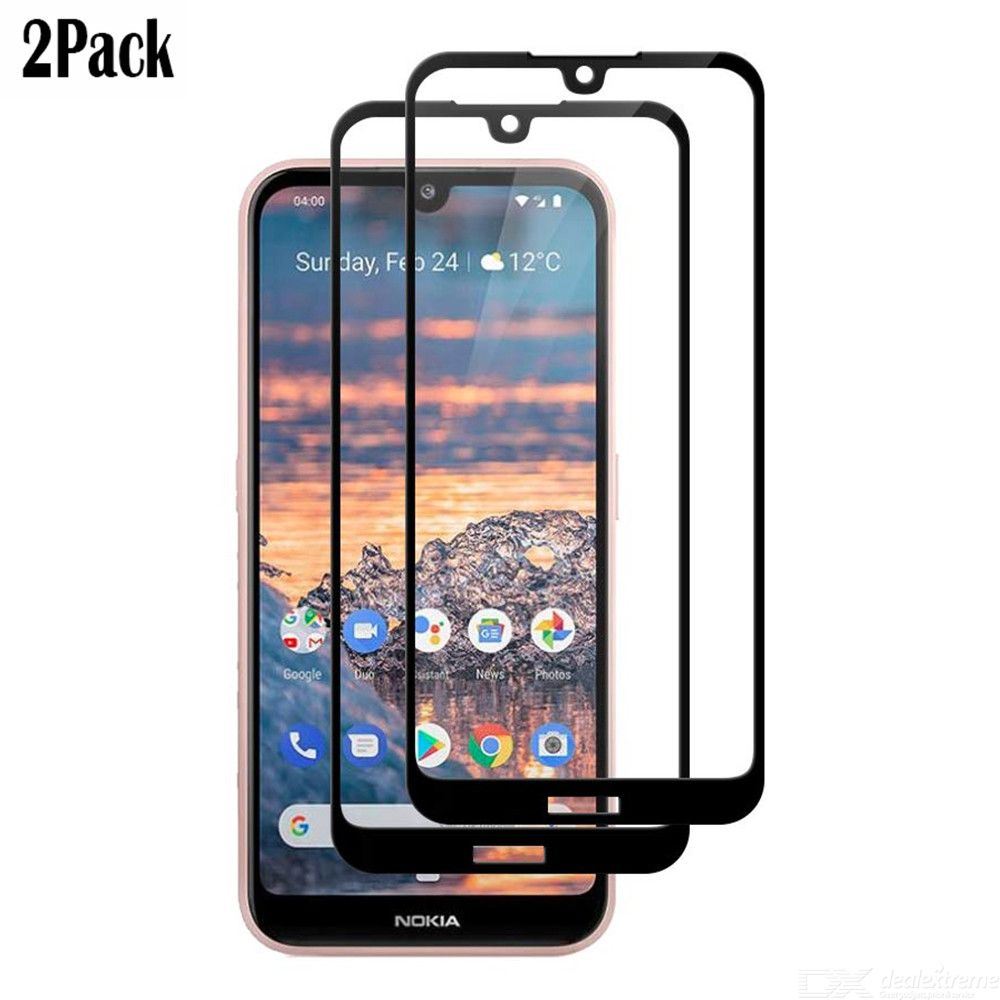 Naxtop 2.5D Tempered Glass Screen Protector For Nokia 4.2