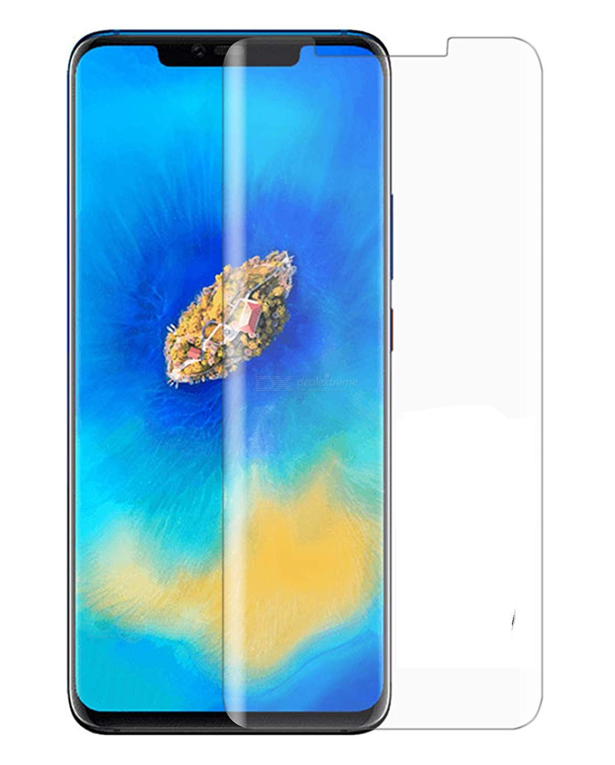 Tempered Glass Screen Protector 3D 9H Full Coverage Tempered Glass Protection Film for Huawei Mate 20 Pro – 2 Pack