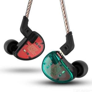 KZ AS10 In-ear Earphones Premium HiFi Headsets With 5 Armature Drives And Microphones