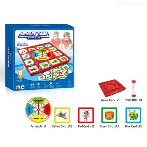 Children Memory Board Game Kids Memory Pairing Thinking Game Parent-Child Interactive Game Early Educational Toys