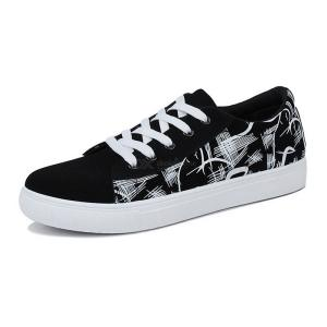 Comfortable Lace-up Sneakers Casual Walking Shoes For Men