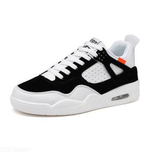 Mens Sneakers Adult Casual Fashion Lace-Up Low-Top Trainers Height Increasing Shoes