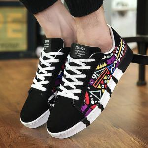 Mens Casual Sneakers Adult Fashion Lace-Up Low-Top Trainers