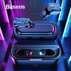 Baseus W01 TWS Bluetooth 5.0 Wireless Headphone, Stereo Bass Wireless Earphone With Microphone For Phone