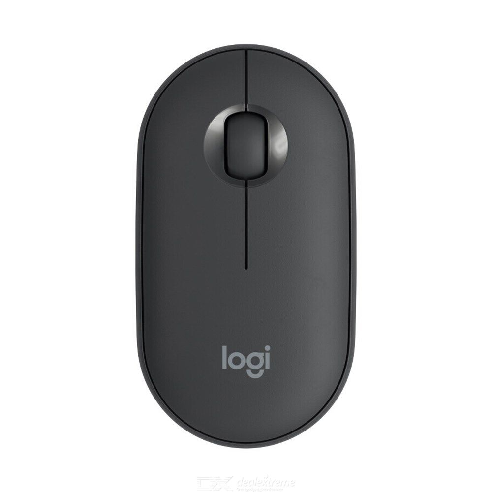 Logitech PEBBLE Silent Bluetooth Wireless Mouse, Thin Light Portable Modern Mouse With...
