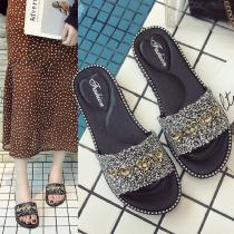 Comfortable-Crystal-Beach-Slippers-Heart-Shape-Embellishment-Sandals-Summer-Casual-PVC-Shoes-For-Women