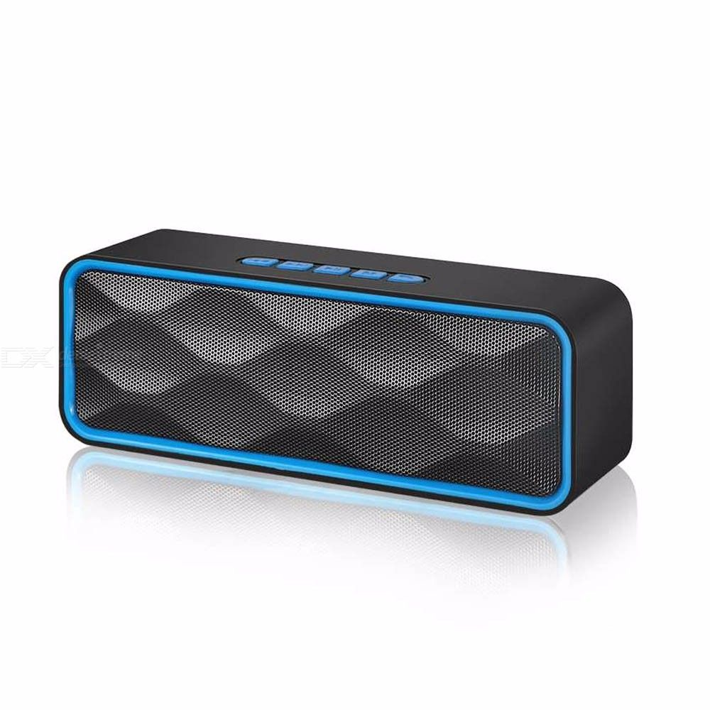 sc211 portable wireless bluetooth speaker with hd sound and bass for iphone samsung and more