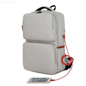 15.6 Inches Laptop Backpack Large Capacity Travel Bags Multifunctional USB Charging Schoolbag For Teenager Students
