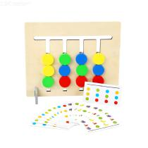 Children-Four-Color-Fruit-Matching-Game-Kids-Double-Wooden-Logical-Development-Toys-Early-Educational-Toys
