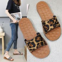 Leopard-Print-Slippers-Bear-Pattern-Outsole-Sandals-Summer-Casual-Flat-Shoes-For-Women