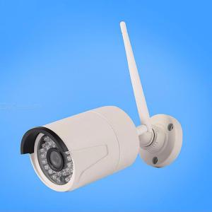 Wireless 1080P HD Security Camera, HomeOutdoor Surveillance IP WiFi Camera Asset Pet Baby Monitor, 20m Night Vision - White