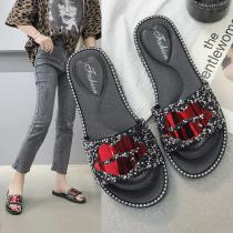 Casual-Rhinestone-Slippers-Red-Lip-Sandals-Summer-Flexible-PVC-Shoes-For-Women