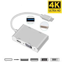 4-In-1-USB-31-USB-C-Type-C-To-HDMI-VGA-DVI-USB-30-Adapter-Cable-For-Laptop-Apple-Macbook-Google-Chromebook-Pixel