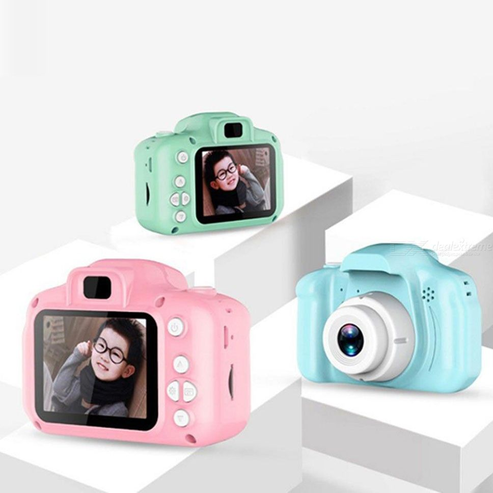 MD03 Classic Digital Camera For Kids, Portable Compact Cute Design Rechargeable Puzzle Games Video Camera For Girls  Boys
